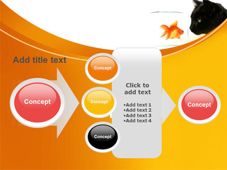 Fish and Cat PowerPoint Template Slide 17