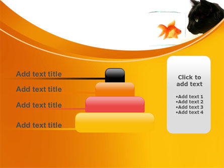 Fish and Cat PowerPoint Template Slide 8