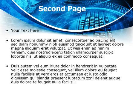 Keyboard Theme PowerPoint Template Slide 2