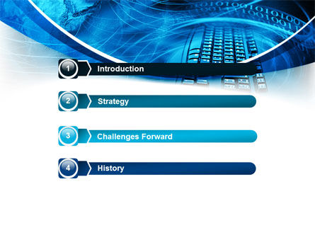 Keyboard Theme PowerPoint Template, Slide 3, 07780, Technology and Science — PoweredTemplate.com