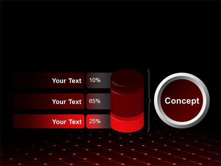 Red Fragmented Surface PowerPoint Template Slide 11