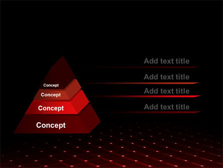 Red Fragmented Surface PowerPoint Template Slide 12