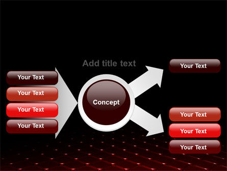 Red Fragmented Surface PowerPoint Template Slide 14