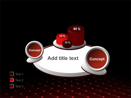 Red Fragmented Surface PowerPoint Template Slide 16