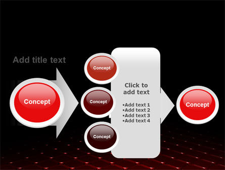 Red Fragmented Surface PowerPoint Template Slide 17