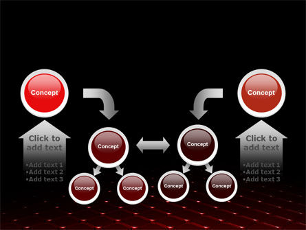 Red Fragmented Surface PowerPoint Template Slide 19