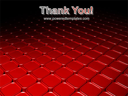 Red Fragmented Surface PowerPoint Template Slide 20