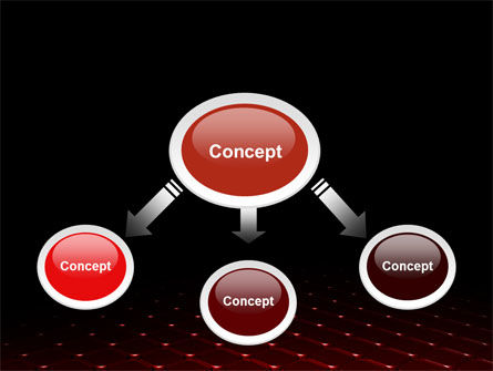 Red Fragmented Surface PowerPoint Template Slide 4