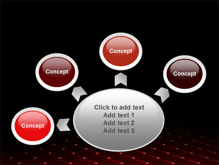 Red Fragmented Surface PowerPoint Template Slide 7
