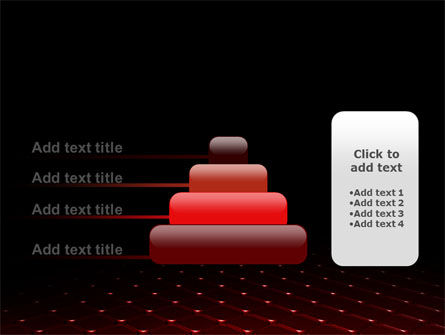 Red Fragmented Surface PowerPoint Template Slide 8
