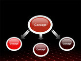 Red Fragmented Surface PowerPoint Template#4