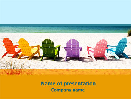 Deckchairs PowerPoint Template