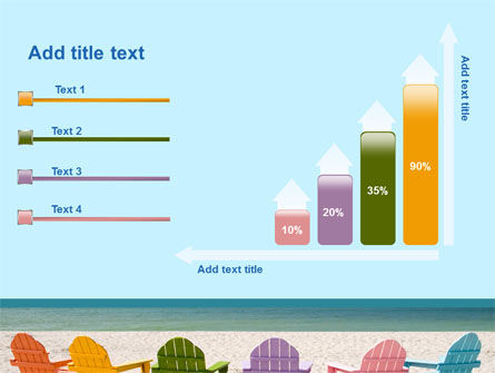 Deckchairs PowerPoint Template Slide 8
