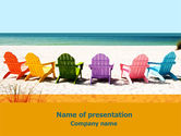 Careers/Industry: Liegestühle PowerPoint Vorlage #07782