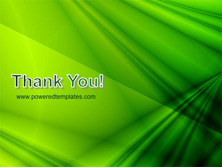 Green Satin PowerPoint Template Slide 20