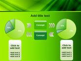 Green Satin PowerPoint Template#11