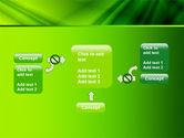 Green Satin PowerPoint Template#13