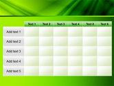 Green Satin PowerPoint Template#15