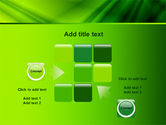 Green Satin PowerPoint Template#16