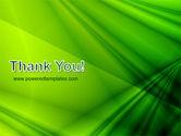 Green Satin PowerPoint Template#20