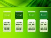 Green Satin PowerPoint Template#5