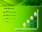 Green Satin PowerPoint Template#8