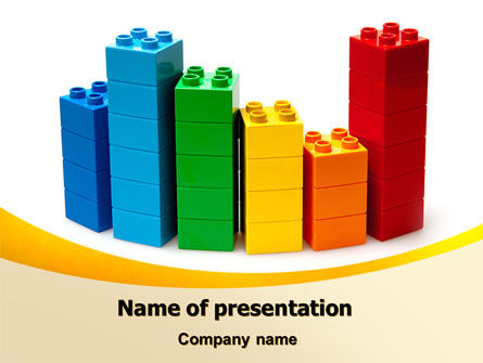 Lego World PowerPoint Template, 07788, Consulting — PoweredTemplate.com