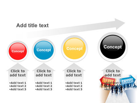 Failure and Success PowerPoint Template Slide 13