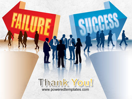 Failure and Success PowerPoint Template Slide 20