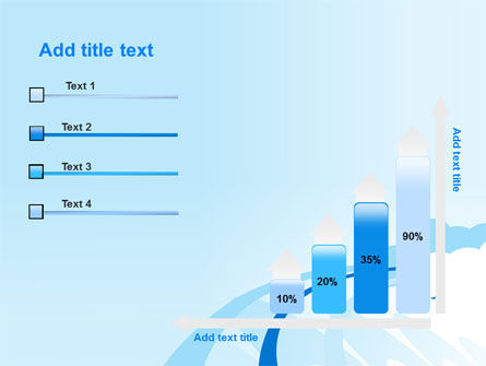 Blue Cloud Abstract PowerPoint Template Slide 8
