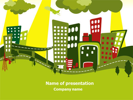 Green Infrastructure PowerPoint Template