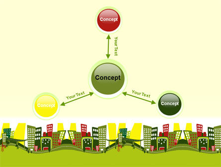 Green Infrastructure PowerPoint Template Slide 14