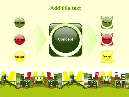 Green Infrastructure PowerPoint Template Slide 17