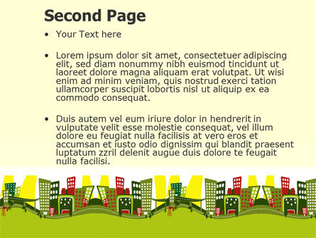 Green Infrastructure PowerPoint Template Slide 2