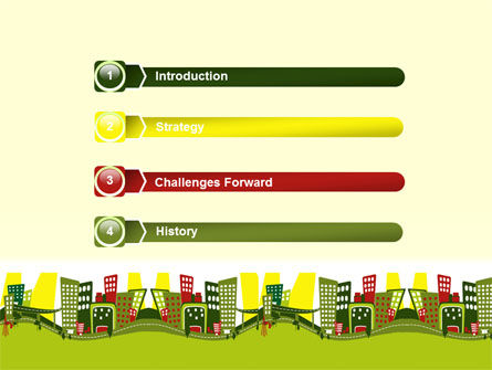 Green Infrastructure PowerPoint Template Slide 3