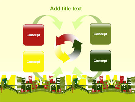 Green Infrastructure PowerPoint Template Slide 6
