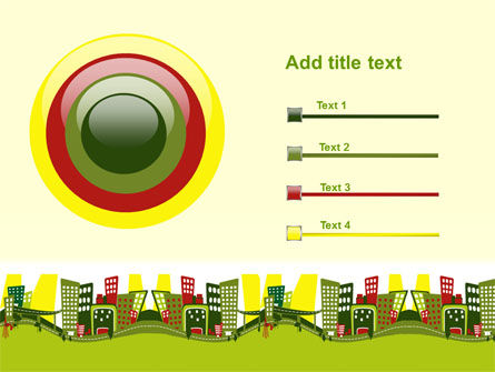 Green Infrastructure PowerPoint Template Slide 9