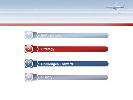 Air Transport PowerPoint Template, Slide 3, 07793, Cars and Transportation — PoweredTemplate.com