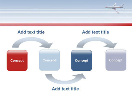 Air Transport PowerPoint Template, Slide 4, 07793, Cars and Transportation — PoweredTemplate.com