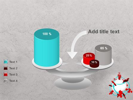 Peoples Network PowerPoint Template Slide 10