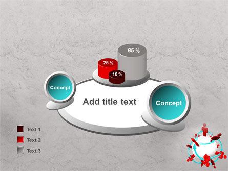 Peoples Network PowerPoint Template Slide 16