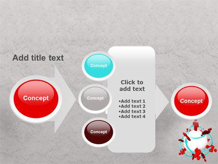 Peoples Network PowerPoint Template Slide 17