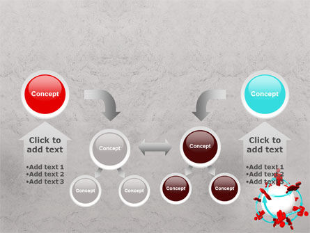 Peoples Network PowerPoint Template Slide 19