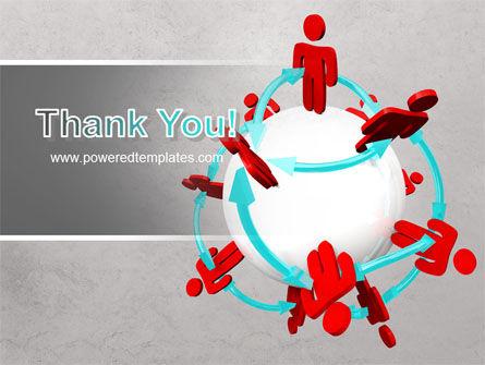 Peoples Network PowerPoint Template Slide 20