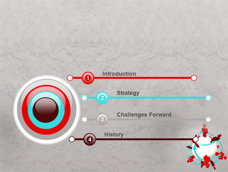 Peoples Network PowerPoint Template Slide 3