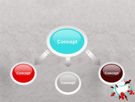 Peoples Network PowerPoint Template Slide 4