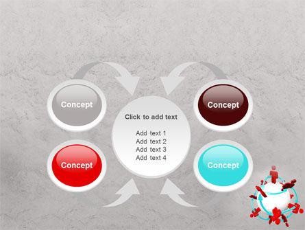 Peoples Network PowerPoint Template Slide 6