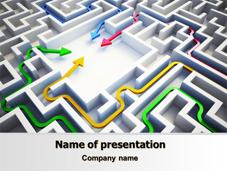 Consulting: Solutions PowerPoint Template #07796