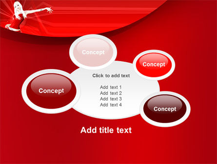 Free Girl in Red PowerPoint Template Slide 16