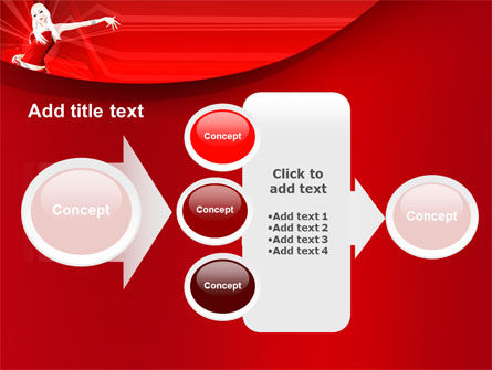 Free Girl in Red PowerPoint Template Slide 17